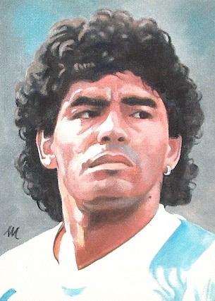 Diego Maradona par mario